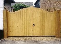 Treated Timber Gates